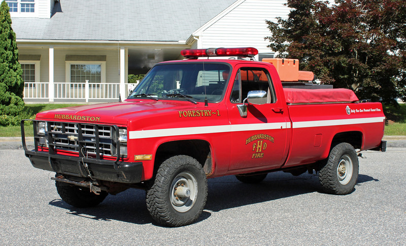 Forestry 1 1986 Chevy 4x4/Utility 125/250