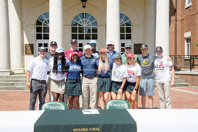 2021 Spring Athletic Signing Day