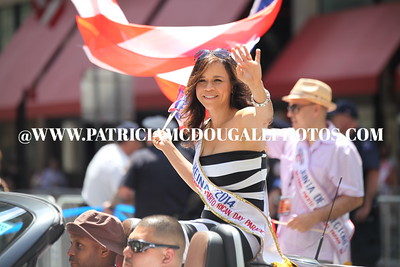 The Puerto Rico Day New York City 2014