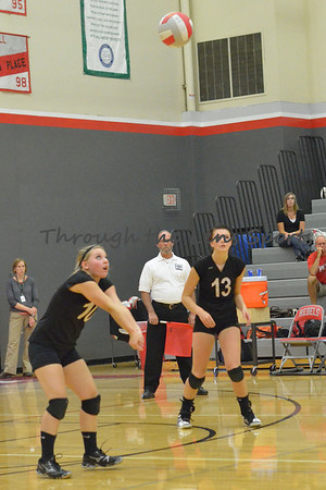 West Albany vs, South Albany High School Volleyball