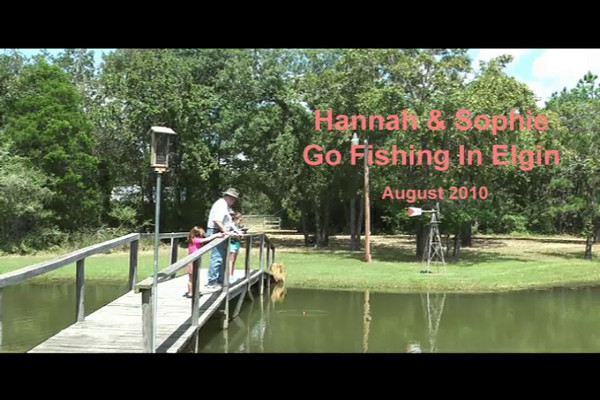 Hannah & Sophie Fishing in Elgin