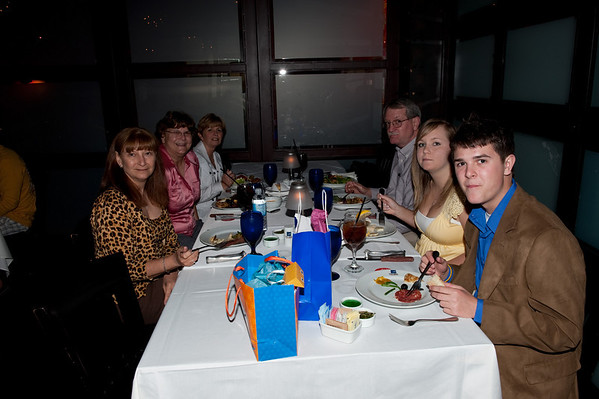 Joe's 17th Birthday At Texas de Brazil