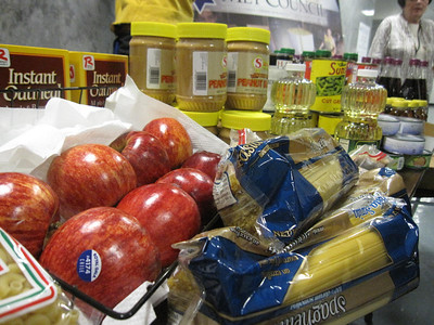 Rosh Hashana Food Distribution