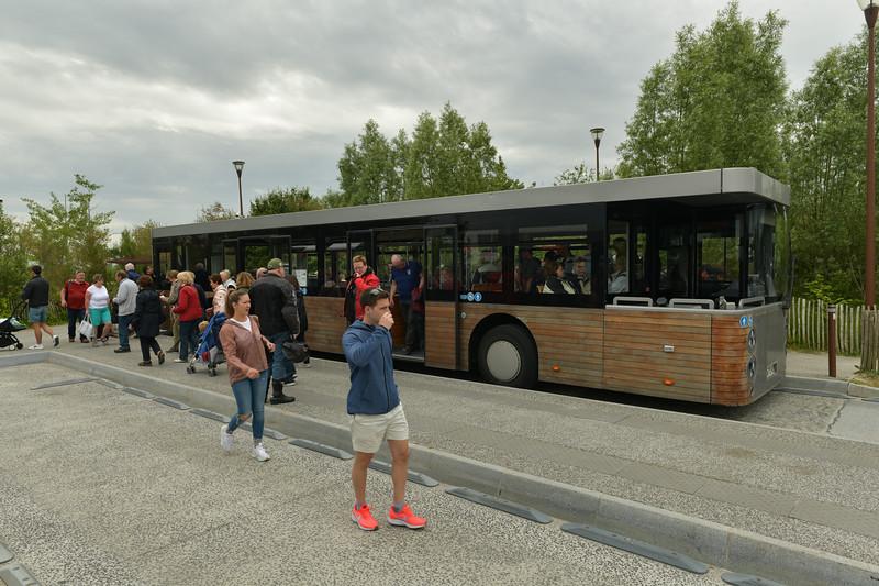 Shuttle Bus at Mont Sainte Michel