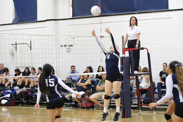 Girls VB vs Pilibos 10/18/16