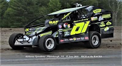 Plattsburgh Airborne Speedway - 6/15/19 - Rick Young