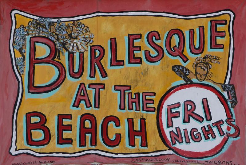 Burlesque at the beach