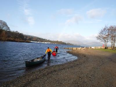 Canoe Award training/assessment