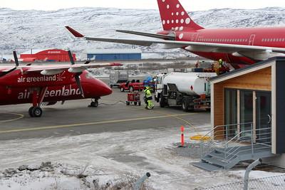 Arrivals - Kangerlussuaq
