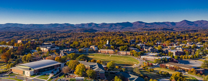 UNG Campus and the town of Dahlonega, Ga.