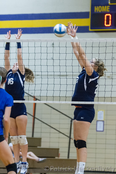 2016-09-24 Hillsdale Academy JV Volleyball at Onsted Tournament