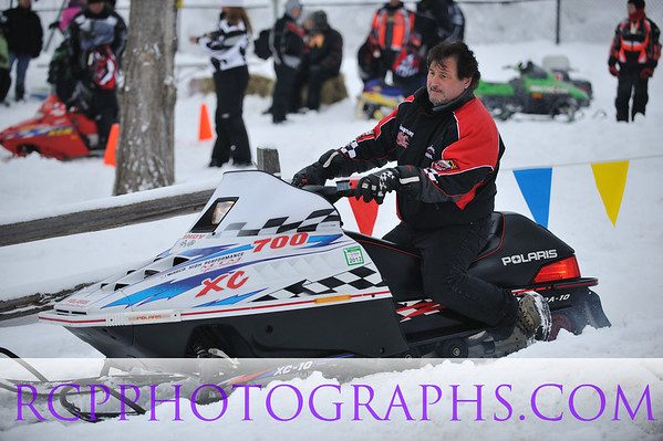 Wonder Lake, IL Snowmobile Radar Run 2011
