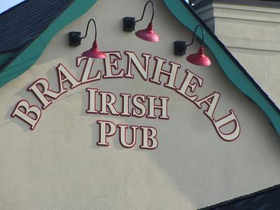 Hog chapter dinner ride to Brazenhead 7-21-11