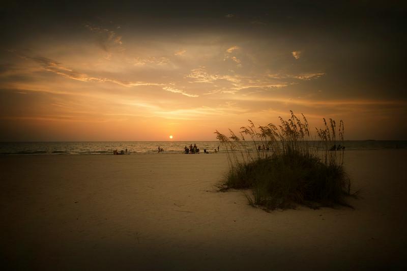 St Petes Beach at Sunset