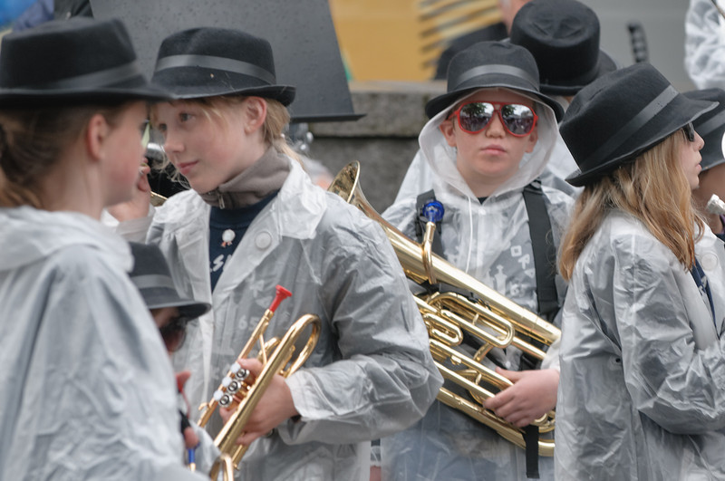 Dieses Mal war Richard noch Aspirant aber bald ist er im Juniorkorps.