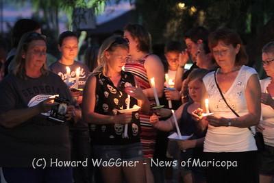 Candlelight Vigil 7-3-2015