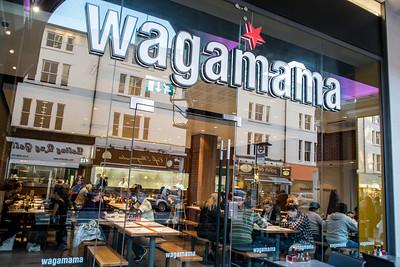 Wagamama restaurant on High Street, Ealing, London, United Kingdom