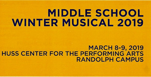 "Middle School Winter Musical ""Seussical"""