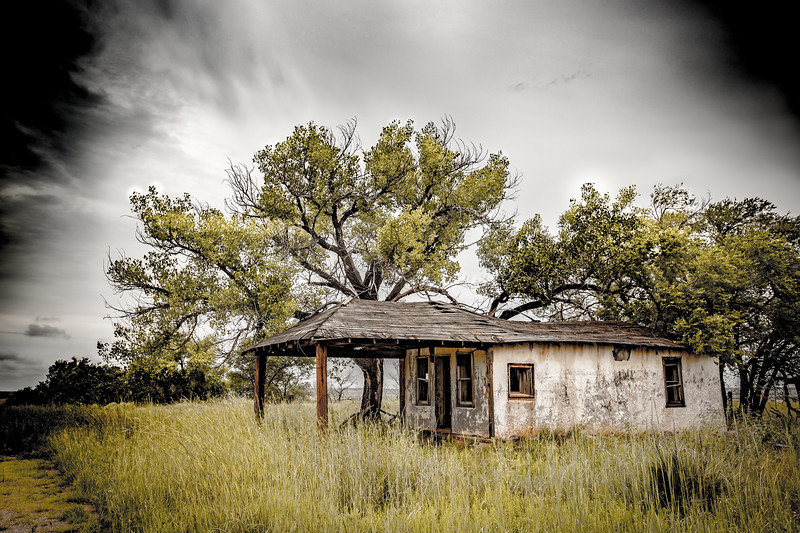 Old house Route 66 New Mexico