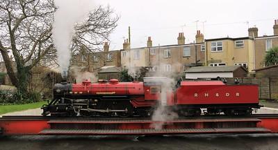 20160123 Romney Hyth & Dymchurch Railway