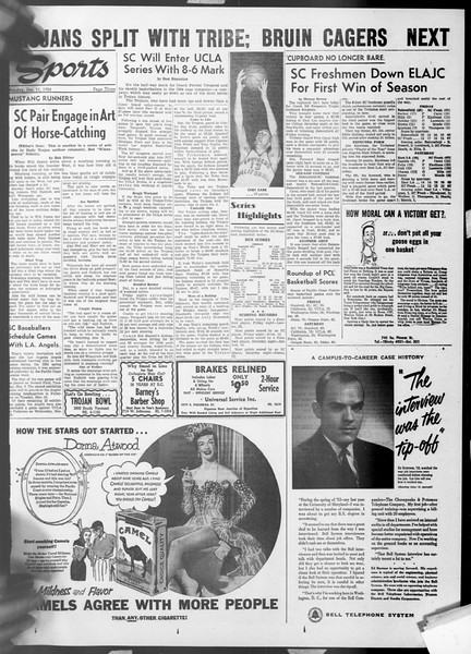 Daily Trojan, Vol. 45, No. 67, January 11, 1954
