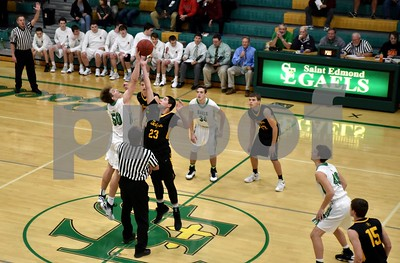 Bishop Garrigan @ St. Edmond Boys Basketball 11/28/16