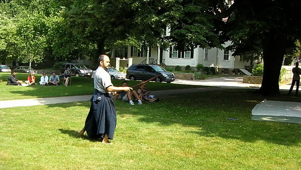 Black Ships Festival - Sword Demonstration