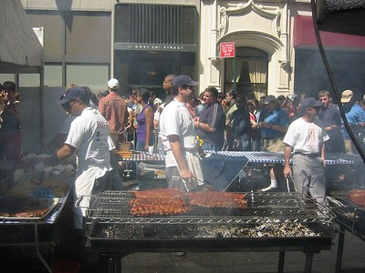 NYC BBQ Block Party, 6.12.2004