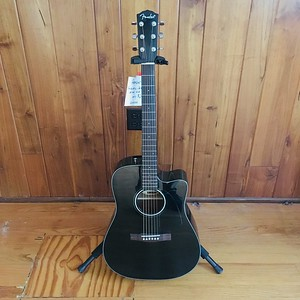 Fender Acoustic Electric, Black CD140SCE