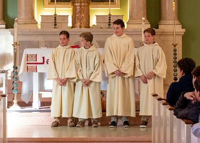 Altar Server & Eucharistic Minister Induction 2019