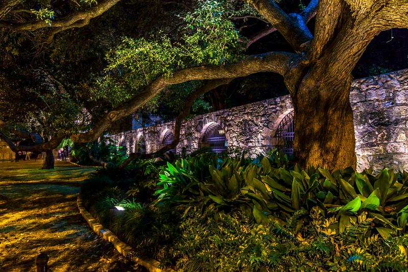 The Wall of the Alamo