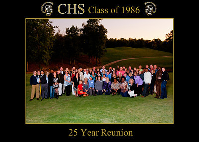 CHS 1986 25th Reunion