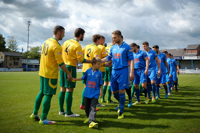 Matlock Town v Blyth Spartarns - Evo Stik Northern Premier League - Autoworld Arena  - 23rd August 2014 - Credit Paul Paxford/Pitchside Photo - pitchsidephotography@gmail.com - NO UNPAID USE