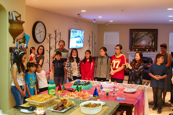 Kaitlyn & Kevin Combined Birthday Party 2017
