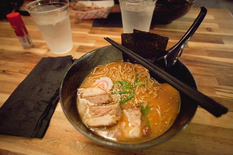 Tonkotsu Ramen with Pork Belly