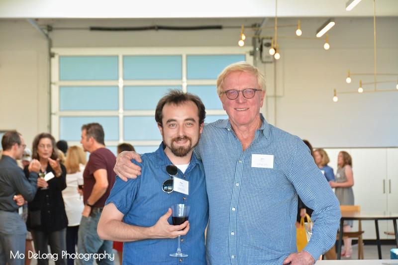 Max Weinberg and Jim Wood