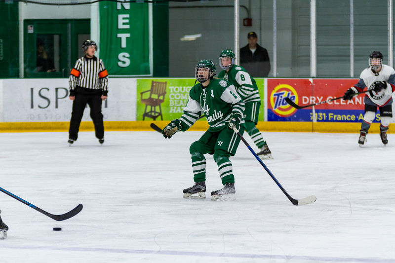 Holy Family's Sydney Paulsen '20 (2) vs. Eden Prairie at Braemar Arena - Collin Nawrocki/The Phoenix