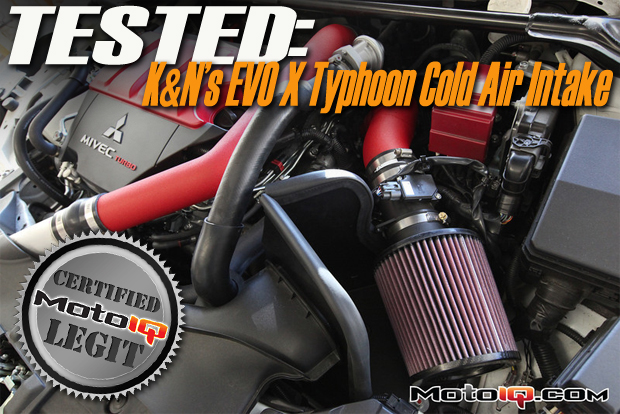 Project Evo X GSR- Testing the K&N Typhoon Cold Air Intake