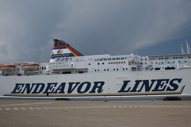 2008 - F/B IONIAN QUEEN in Brindisi.