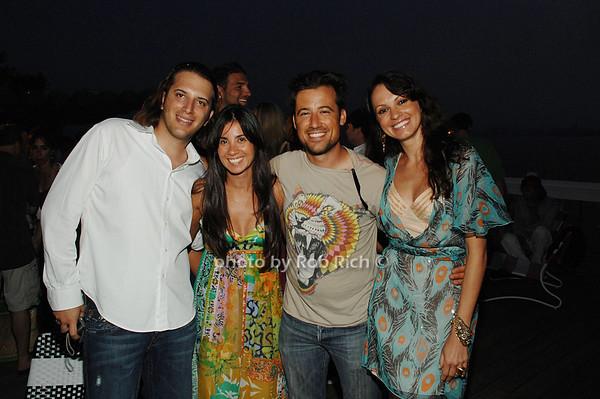 Noah Goodheart, Chris Cardoso, Zach Bliss and Ingrid Rheinlander