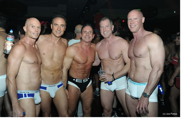 White Party Underwear -  Palm Springs, CA