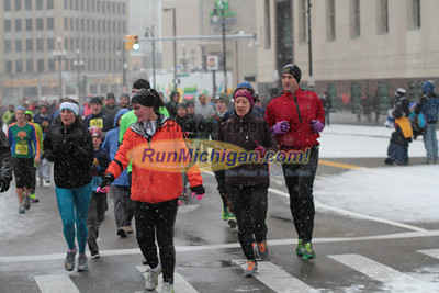 5K at 2.4 Mile Mark & 10K at 4.5 mile mark Gallery 2 - 2013 Fifth Third Detroit Turkey Trot
