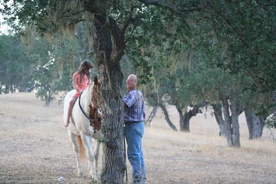 2008-06 Trip to California - Riding Horses