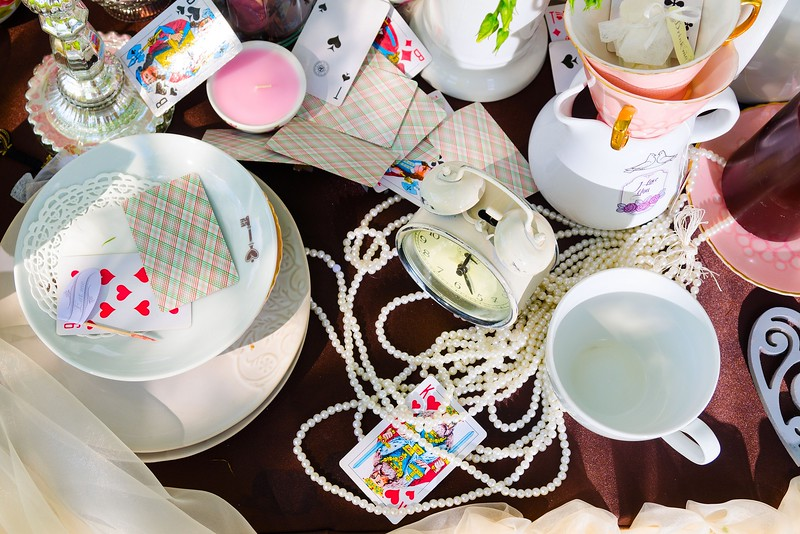 tea party in park