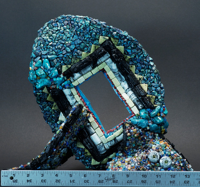 3-D Table-Top Mosaic Sculptures