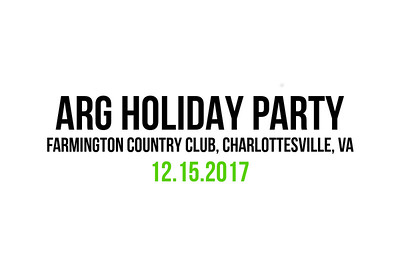 ARG Holiday Party 2017