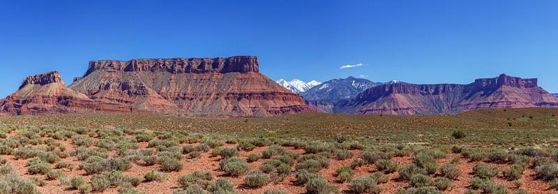 The Mesa Hides The Mountains