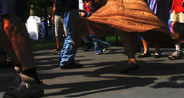 Contradance Demo at Lexington, KY festival