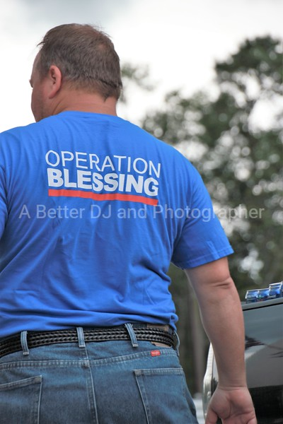 OPERATION BLESSING Texas event