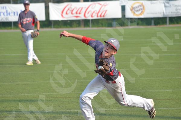 Baseball; Acadians vs Brewer Tournament; 7/23